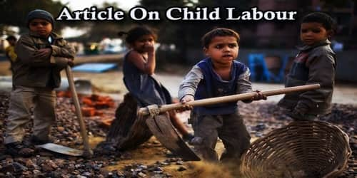 Article On Child Labour