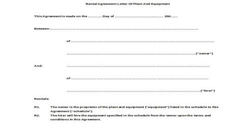 Letter Of Agreement Sample from www.msrblog.com