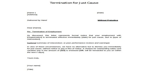 Client Termination Letter Sample from www.msrblog.com